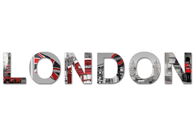 bebilderte dekobuchstaben london 3d buchstaben als. Black Bedroom Furniture Sets. Home Design Ideas