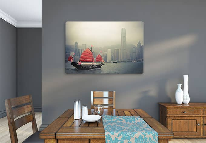 Wall Decoration Hk : Glasschilderijen hong kong wall art