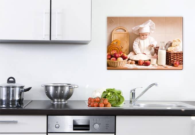 Glasbild backprofi wandbilder fur die kuche wall artde for Glasbild küche
