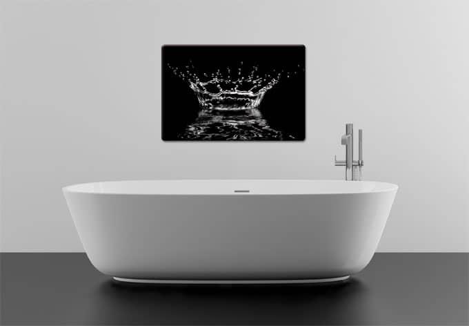 glasbild wassertropfen glasbilder online kaufen wall. Black Bedroom Furniture Sets. Home Design Ideas