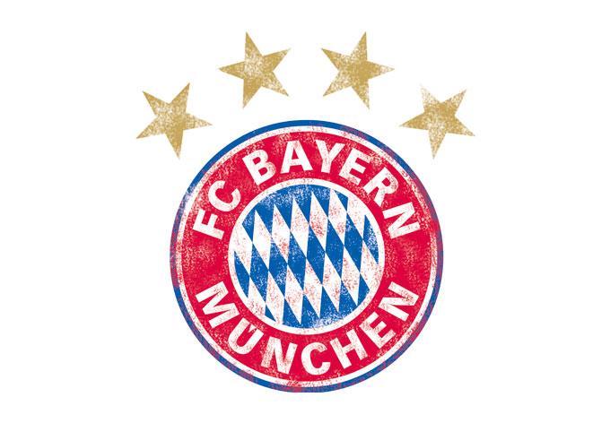 fc bayern m252nchen logo used look originale fcb