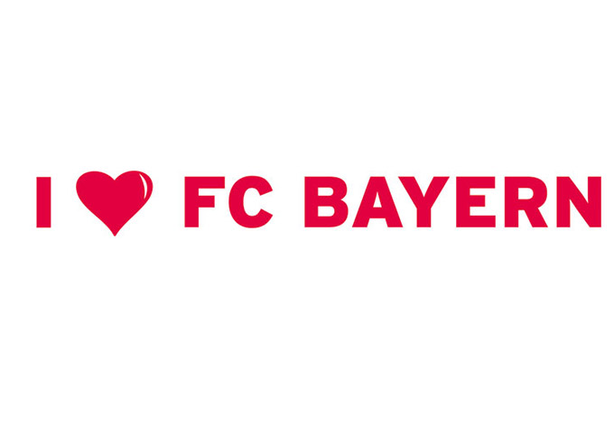 i love fc bayern fc bayern m nchen wandtattoos wall. Black Bedroom Furniture Sets. Home Design Ideas