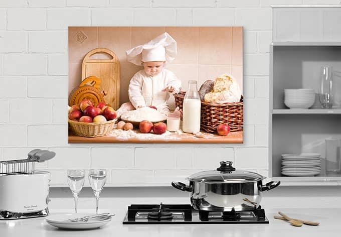 hdf wandbild backprofi tolle k chendekoration f r zuhause wall. Black Bedroom Furniture Sets. Home Design Ideas