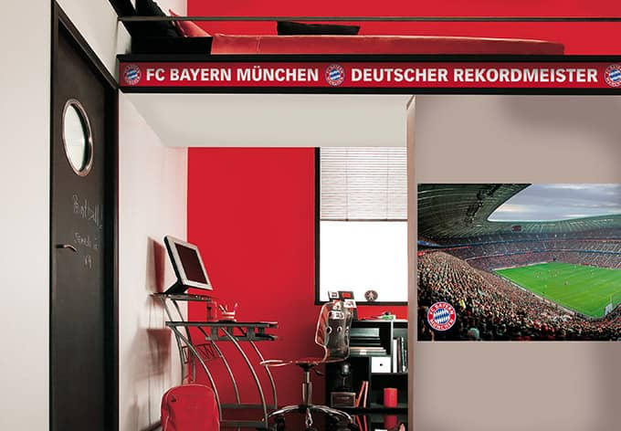 fc bayern m nchen wandbild 889109 wall. Black Bedroom Furniture Sets. Home Design Ideas
