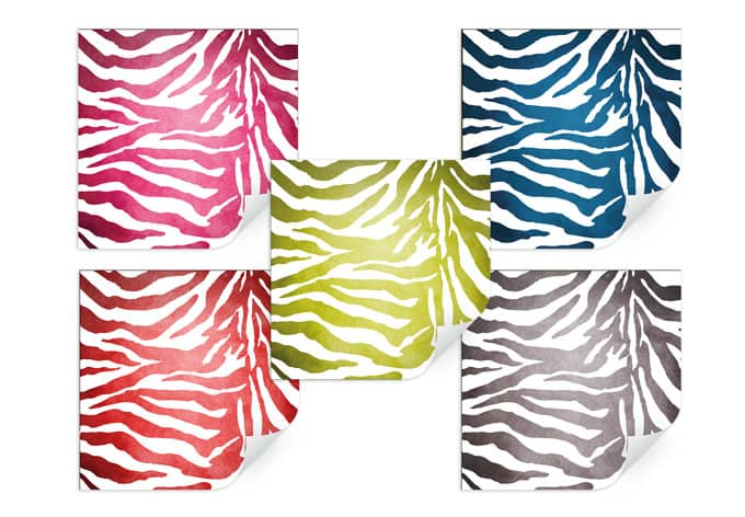 Pellicola adesiva - Motivo zebrato  wall-art.it