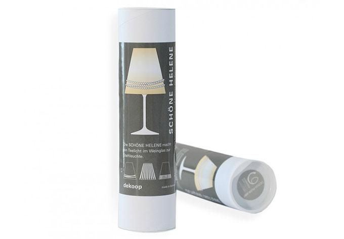 sch ne helene lampenschirme f r weingl ser wall. Black Bedroom Furniture Sets. Home Design Ideas