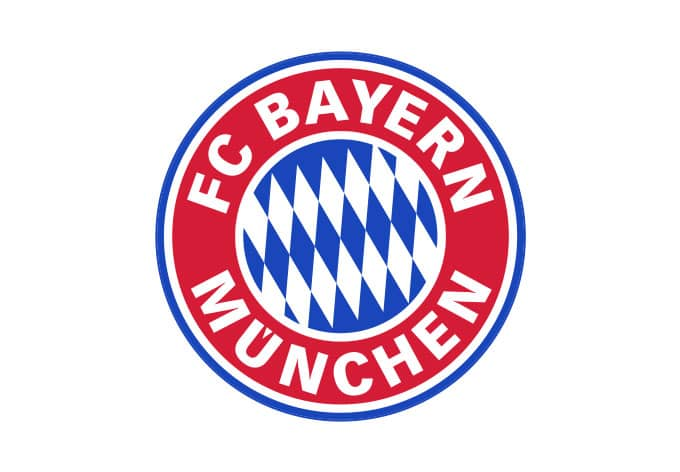 fc bayern m nchen logo ohne sterne originales fcb wandtattoo wall. Black Bedroom Furniture Sets. Home Design Ideas