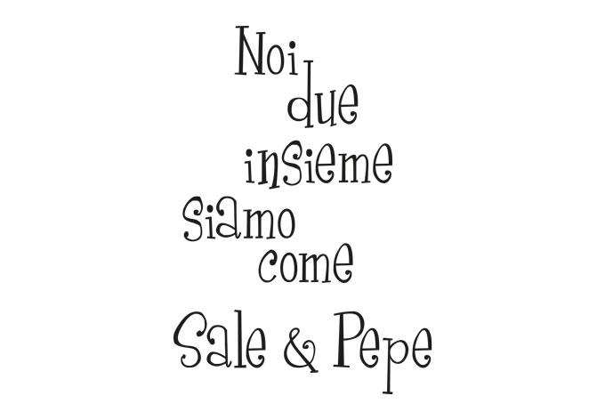 Wandtattoo sale pepe 2 farbig wall - Wandtattoo italienische spruche ...