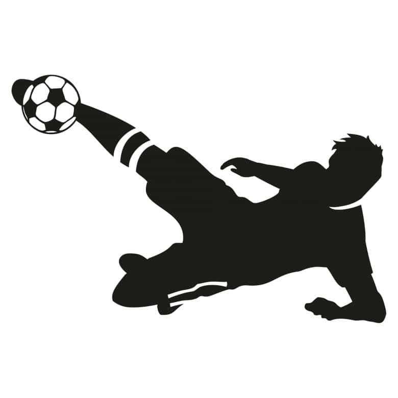 Soccer Player 3 Wall Sticker Wall Art Com