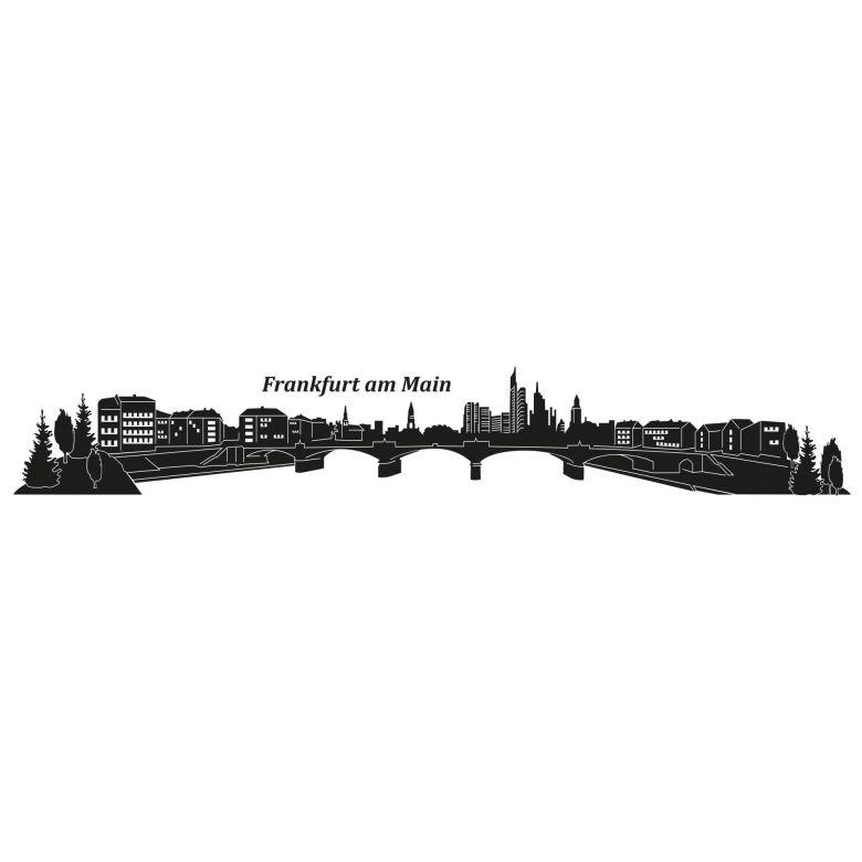 Wandtattoo Frankfurt Skyline Wandtattoo Der Frankfurter Skyline Wall Art De