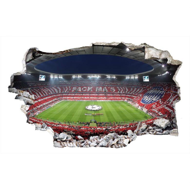 3D Wandtattoo FCB Stadion Pack Ma\'s
