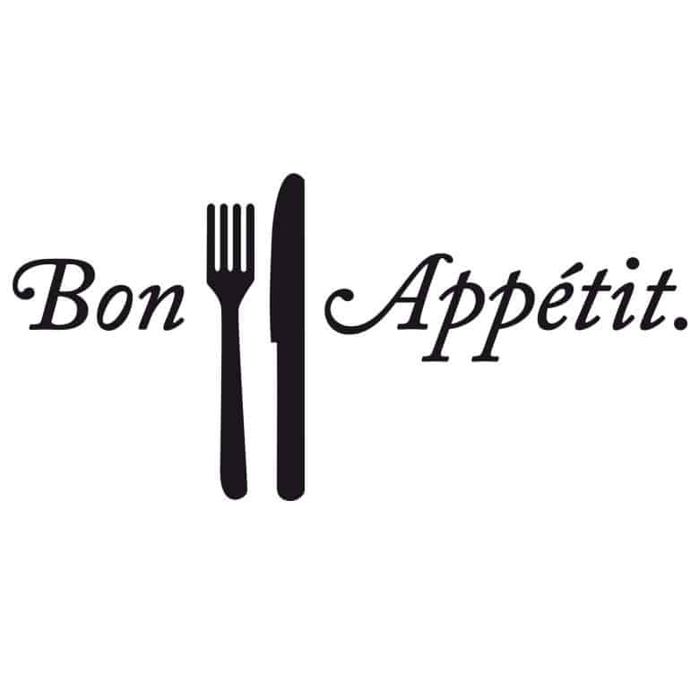 Sticker mural - Bon Appétit | wall-art.fr