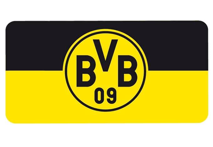 Wall Sticker Borussia Dortmund Banner Black Yellow Wall Art Com