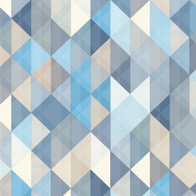 A S Creation Tapete Floral Blau Grau Weiss 372642