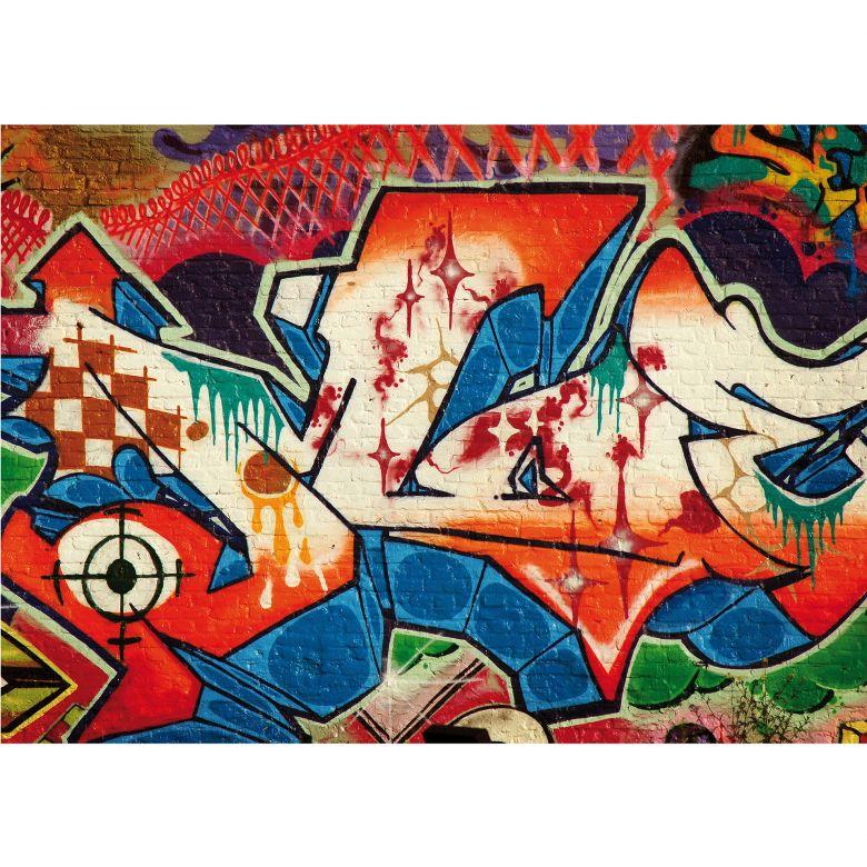 Tapete Fototapete Vlies Graffiti Straßenkunst Nr 1