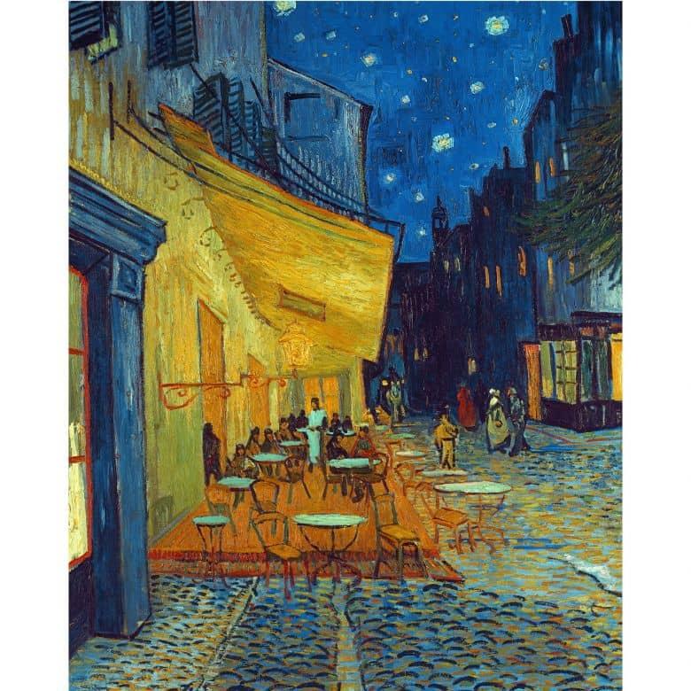 Fotomurale Van Gogh Terrazza Del Caffè Di Sera