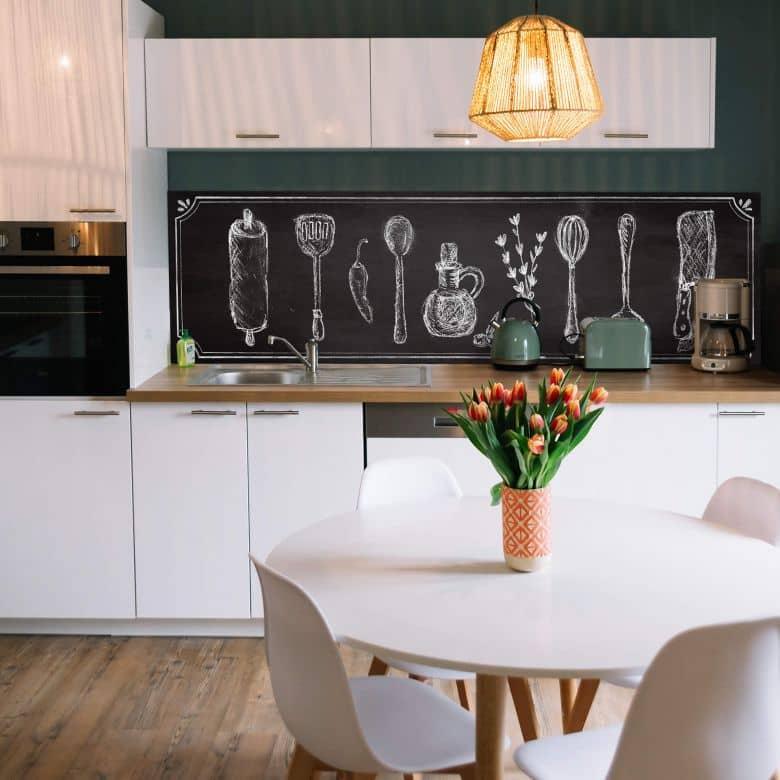 Rivestimento cucina - Alu-Dibond - Cucina rustica