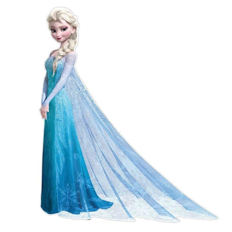 Wandsticker Maxi Die Eiskönigin Elsa