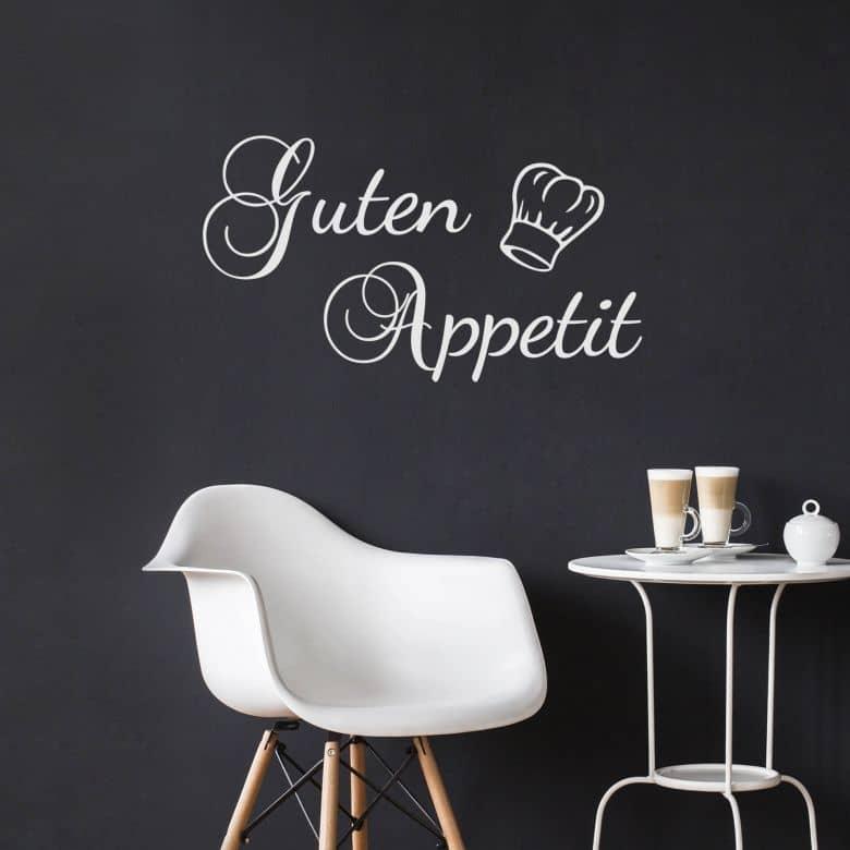Wandtattoo - Guten Appetit 02