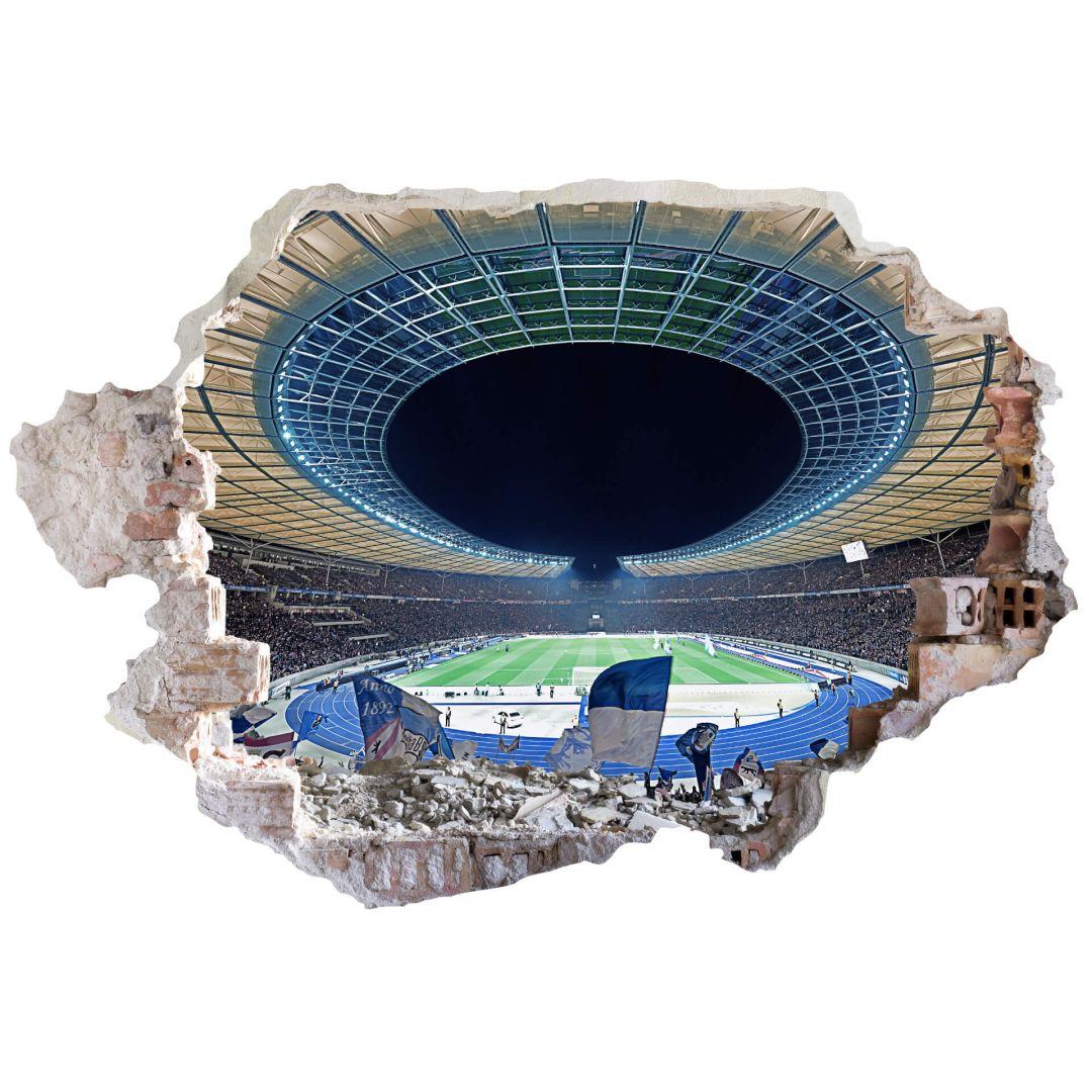 Wandtattoo Stadion