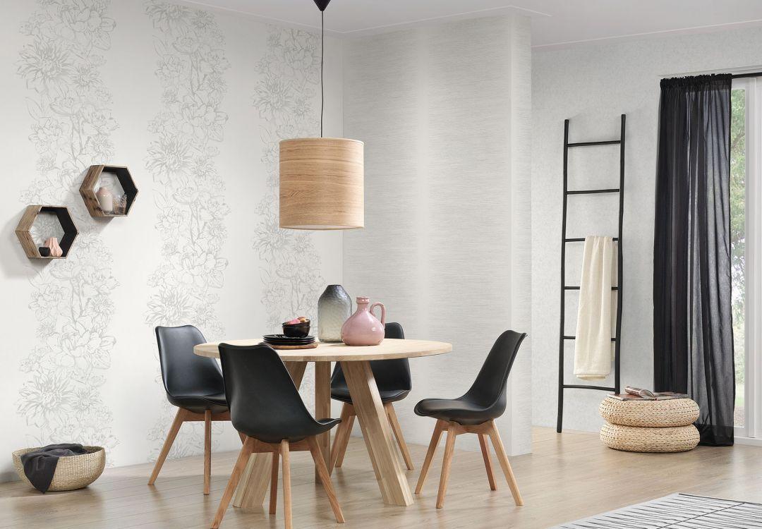 a s cr ation vliestapete vision 307064 grau wei wall. Black Bedroom Furniture Sets. Home Design Ideas