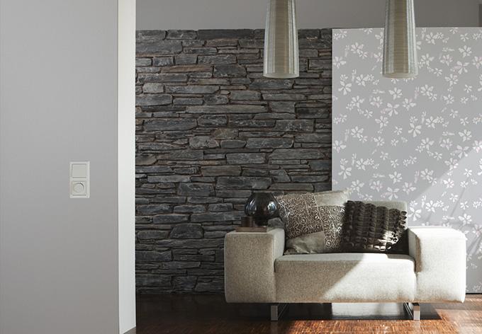 a s cr ation vliestapete naf naf telegrau wall. Black Bedroom Furniture Sets. Home Design Ideas