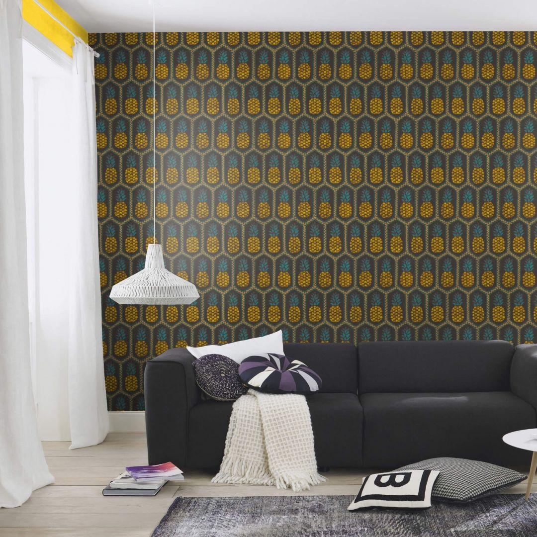 barbara becker b b home passion vi vliestapete gra wall. Black Bedroom Furniture Sets. Home Design Ideas
