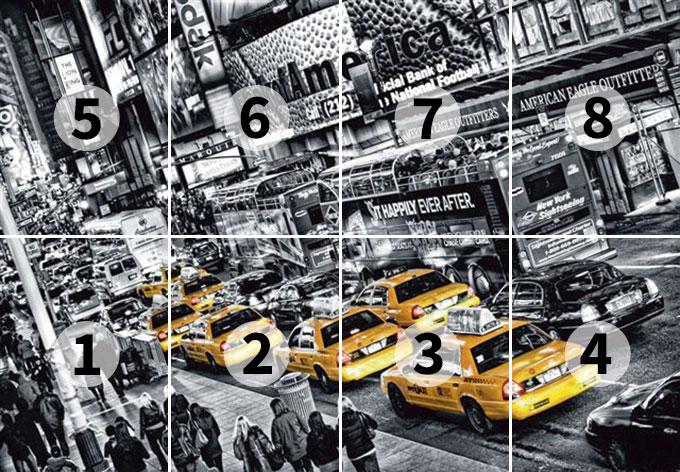 Carta da parati in carta taxi di new york for Carta da parati new york ebay