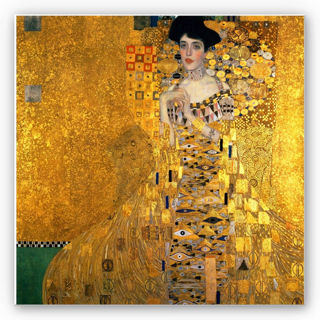 tableau forex klimt portrait wall. Black Bedroom Furniture Sets. Home Design Ideas