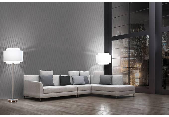 livingwalls tapete titanium 306453 grau metallic wall. Black Bedroom Furniture Sets. Home Design Ideas