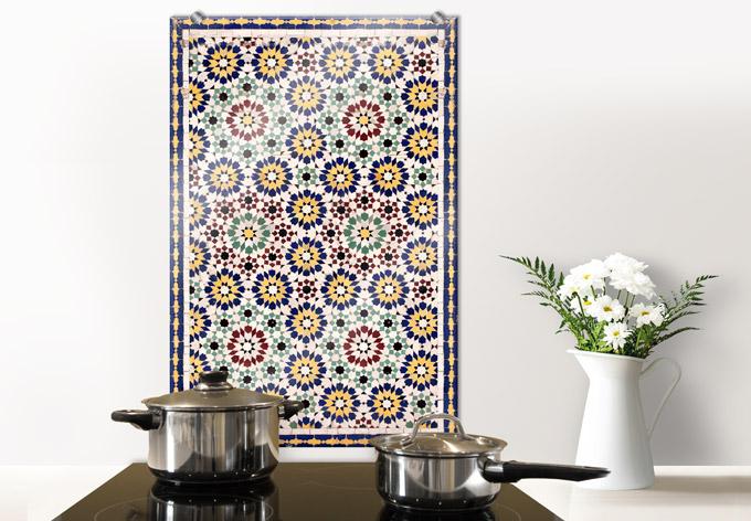 spritzschutz orientalische kacheln 01 von k l wall art wall. Black Bedroom Furniture Sets. Home Design Ideas