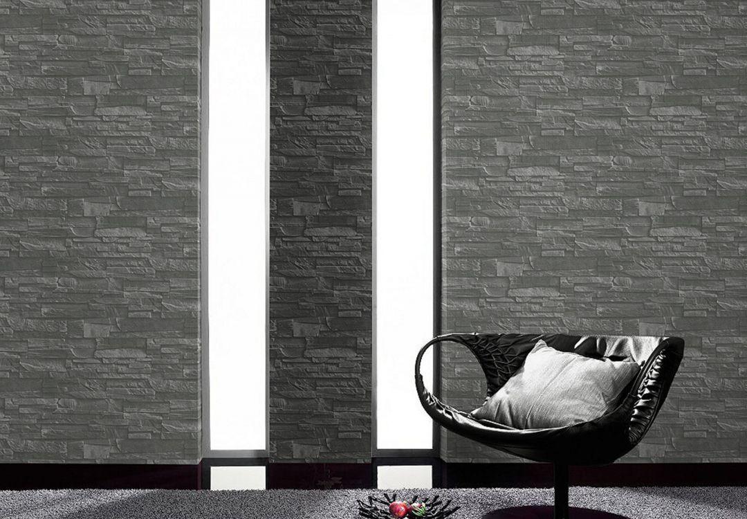 rasch vliestapete factory ii mauer 475029 grau wall. Black Bedroom Furniture Sets. Home Design Ideas