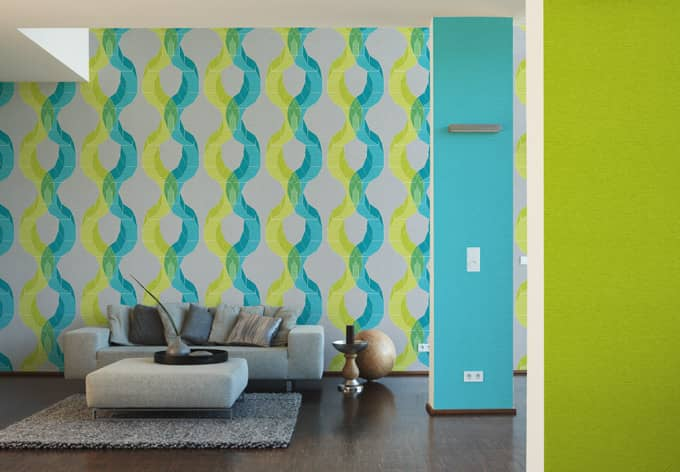 lars contzen tapete contzen 4 t rkis wall. Black Bedroom Furniture Sets. Home Design Ideas