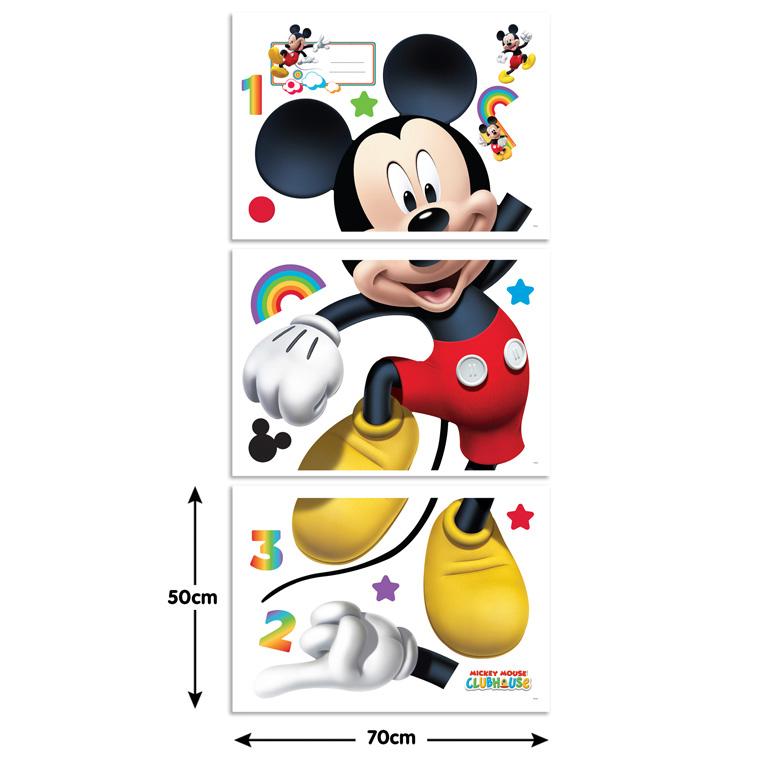 adesivo murale topolino