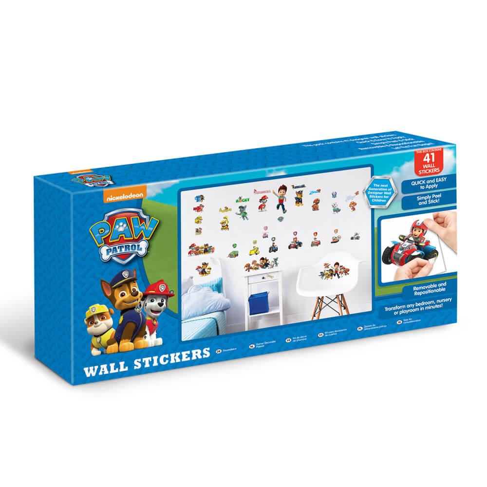 Kinderzimmer Deko Paw Patrol Wandsticker Paw Patrol Walltastic