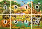 Papierbehang African Animals