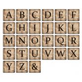 Lettere in legno –  Tasselli Vintage