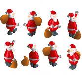 Wandtattoo Weihnachtsmann Bundle