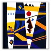 Wandbild Kandinsky - Bindung