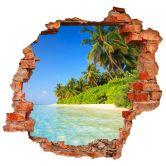 3D Wandtattoo Colombo - Die Malediven