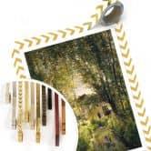 Poster Daubigny - Landschap