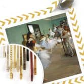 Poster Degas - Die Tanzklasse