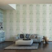 A.S. Création Tapete Vliestapete Reflection grün, metallic, weiß