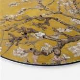 Alu-Dibond van Gogh - Mandelblüte Ocker - Rund