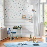Esprit Kids Papiertapete Space blau,weiß
