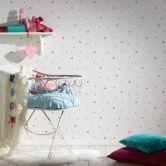 Esprit Kids Vliestapete Girls Dreams rot,lila,weiß