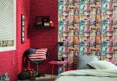 A.S. Création Papiertapete Authentic Walls bunt