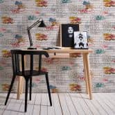 A.S. Création Paper Wallpaper Boys & Girls 4 Colourful, White