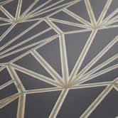 Daniel Hechter Vliestapete geometrische Tapete blau, gold, weiß