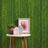 A.S. Création Tapete il Decoro in Bambus Optik grün